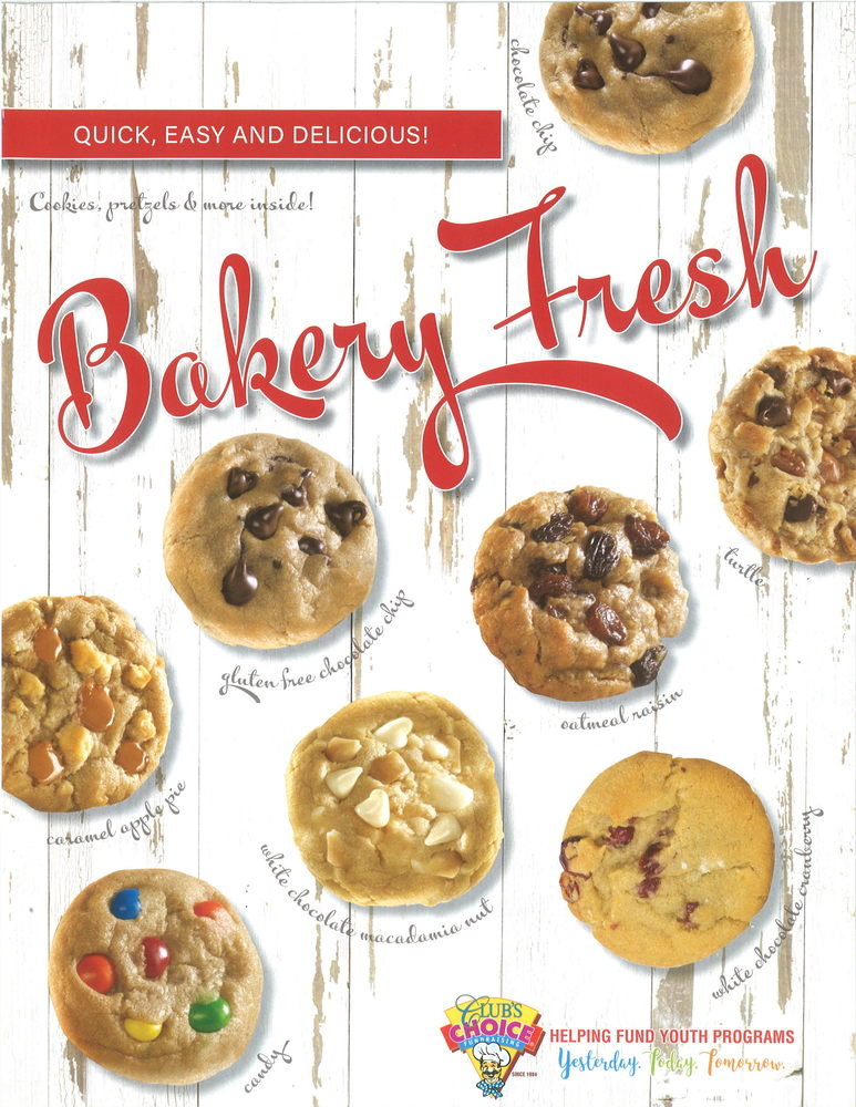 Cookie Dough Sales Start Today!